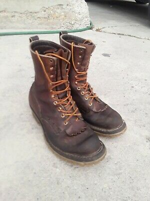 Whites Wildland Fire Boots Size 9.5 F