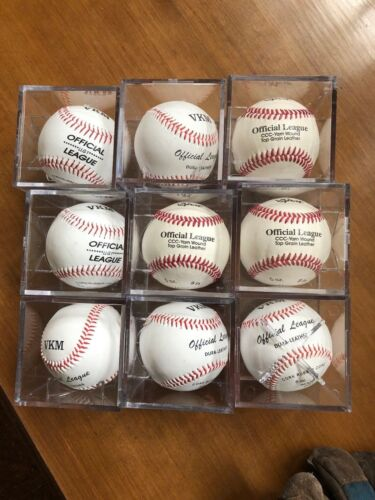 Case of 36 generic baseballs and cubes ----- Brand New