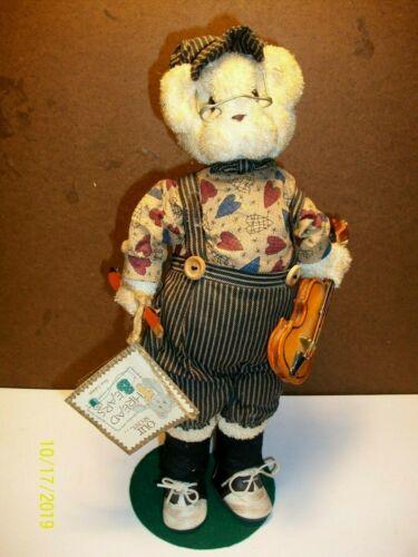 1997 Our Secret - Thread Bears - Robear Bearrington -  with Tag & Stand