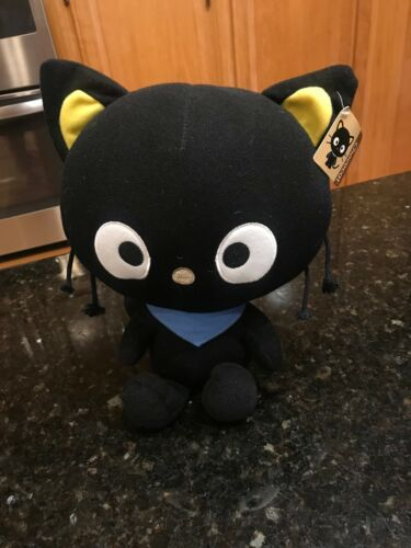"Sanrio Chococat Plush 2011 Hello Kitty 10.5"" BIG Head by Fiesta NWT"