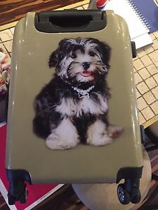 Adorable suitcase
