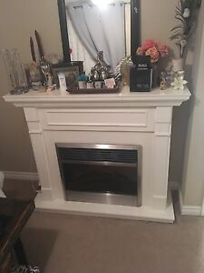 White Electric Fire Place - Dimplex