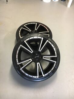 """Sports wheels mags with tyres 20"""""""