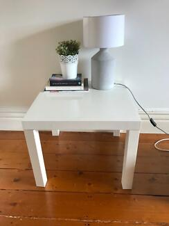 2 x IKEA lack side tables
