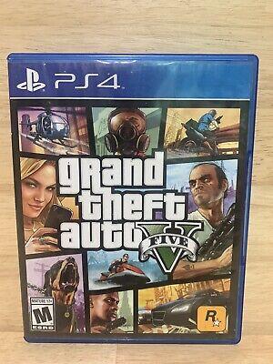 Grand Theft Auto V (Sony PlayStation 4, 2014) PS4