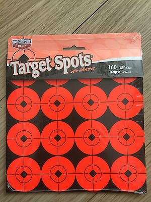 Target Spots By Birchwood casey. Self adhesive targets 1.5 INCH PACK OF 10 SHEET (Target Spots)