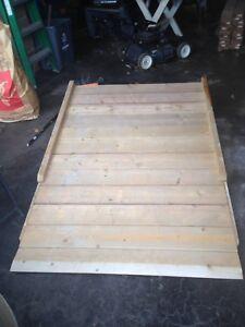 Ramp very sturdy made of wood