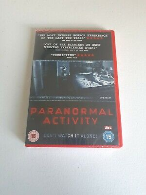 Paranormal Activity (DVD, 2010) Horror Film Scary Don't Watch It Alone