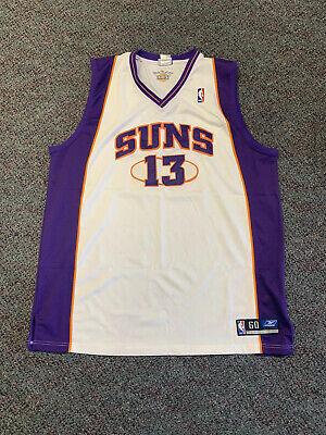 Nba Reebok Authentic Phoenix Suns Steve Nash Jersey Vtg Vintage 60