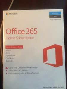 Office 365 - Home Subscription  - 1year