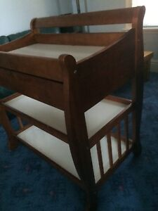 Solid Wood Baby Change Table