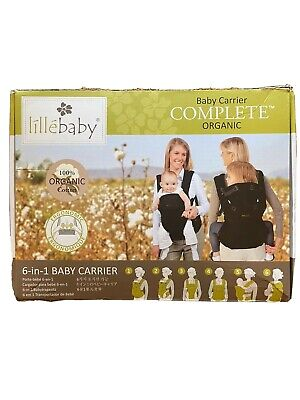 LilleBaby Complete Organic Baby Carrier-green