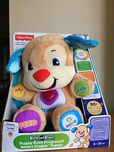 Fisher-Price Laugh and Learn Smart Stages Puppy - French Edition