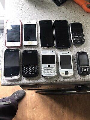 Joblot Phones iPhones Blackberry Vodafone