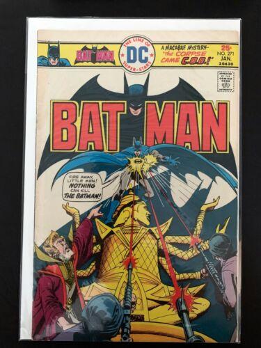BATMAN #271 DC COMICS 1976 VF