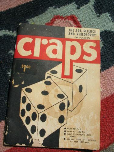 Game of Craps Rules, Odds, Winner Strategies 1950 Klein
