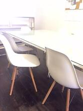 8 Eames Reproduction White Matte Chairs Paddington Eastern Suburbs Preview