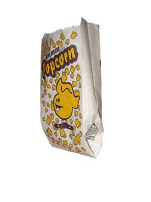 Popcorn Tüten klein bedruckt, Falttüten, ca.1 Liter, 1000 Stk.