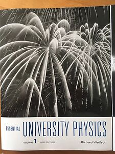 Essential university physics 3rd ed