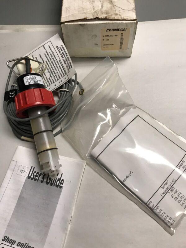 Omega FP-5101 Paddlewheel Flow Sensor