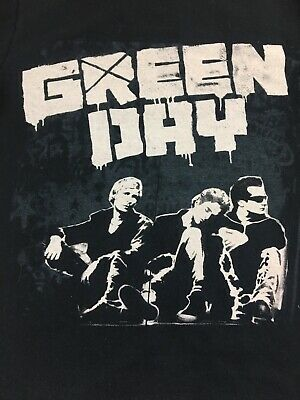 Green Day 2009 Tour T Shirt Size Small Black