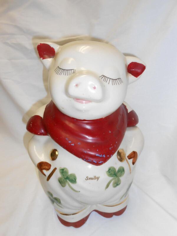 Antique Pig Cookie Jar Ebay