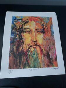 Rare limited edition duaiv litho of Jesus