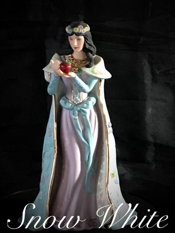 MIB 1989 SNOW WHITE Lenox Figurine Legendary Princesses Org.Box  24K GoldTrim