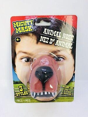Dog Nose Mask (Dog Nose Zoo Animal Elastic Band Child Costume Accessory Mighty)