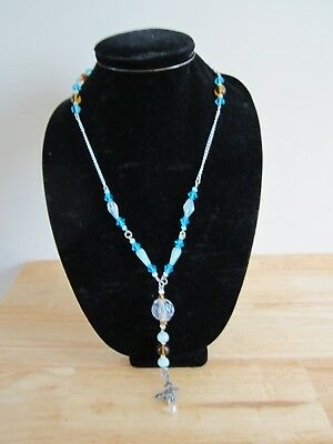 Fantasy dragon handmade beaded fashion rosary necklace for (Dragon Glasses For Sale)
