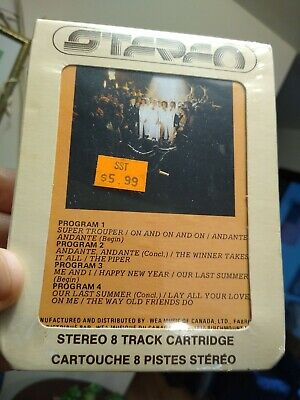 ABBA ‎– Super Trouper  8 Track Tape SEALED Canada