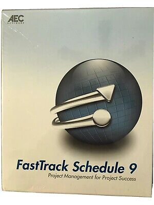 FastTrack Schedule 9 AEC Software Project Management For Project Success SEALED!