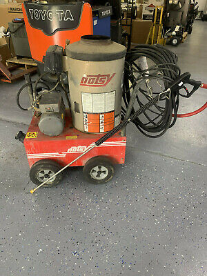 Used Hotsy 680ss 115 Voltdiesel 3.0gpm 1000psi Hot Water Pressure Washer