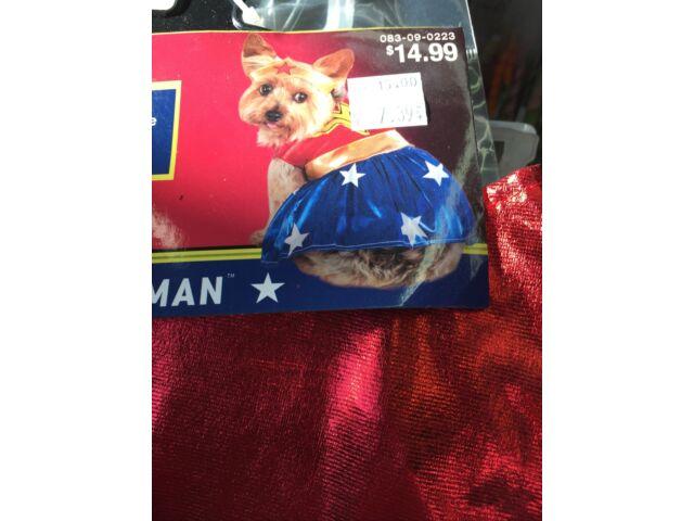 Wonder Woman Dog Costume - XL