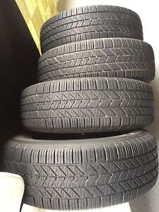 Set of four tires and rims 205/65/R15
