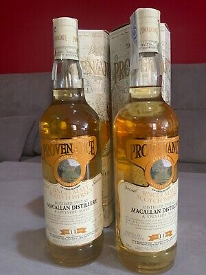 2 Whisky The Macallan 11 years 1993 - 2005 The McGibbons Provenance