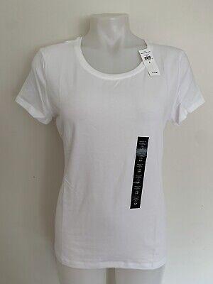GAP Women`s Favorite Crewneck Tee Short Sleeve T Shirt Top White Blouse NWT