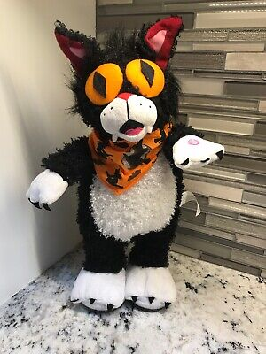 """Zombie Cat Prop (Gemmy Zombie Cat Wiggler Walker Halloween Prop 14"""")"""