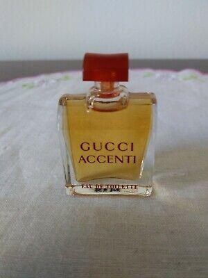 Vintage Gucci Accenti EDT Parfum Mini Miniature 0.17 fl. oz. Travel Size NEW