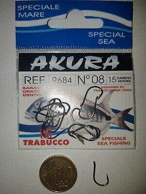 Ami da Pesca TRABUCCO AKURA 9684BN - misura 8 con occhiello