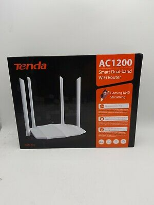Tenda AC5 WiFi Router AC1200 Dual Band 300Mbps 2.4G& 867Mbps 5G MU-MIMO...