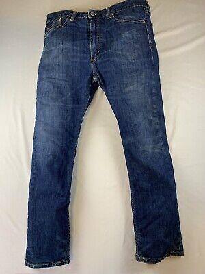 Levis Mens 513 Blue Jeans Size 36x30