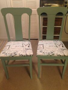 Pair of French Country chairs