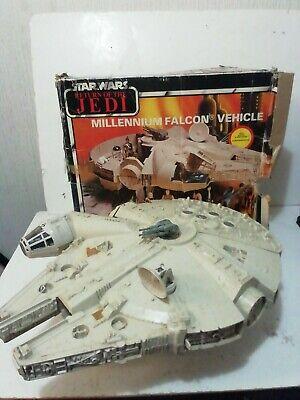 MILLENNIUM FALCON COMPLETE vintage Star Wars PALITOY Original BOXED ROTJ