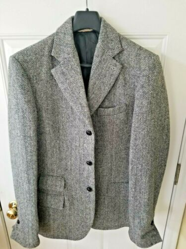 "Abercrombie & Fitch Sport Coat Blazer ""One of A Kind"" Harris Tweed w/Cool Felt"