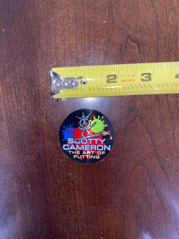 🔥SCOTTY CAMERON Paint Surfer STICKER Decal Authentic🔥Gallery Release!