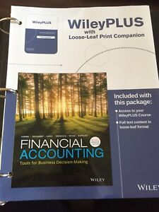 University accounting textbook- Business 285