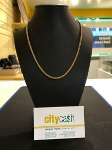9ct Solid Gold Chain Adelaide CBD Adelaide City Preview