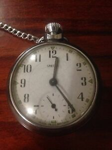 Vintage Smiths pocket watch 1960's WORKING Ascot Brisbane North East Preview