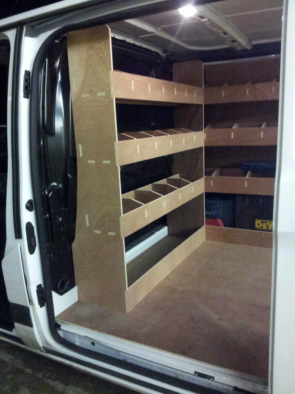 Ford Transit Custom Van Racking Swb Complete Plywood